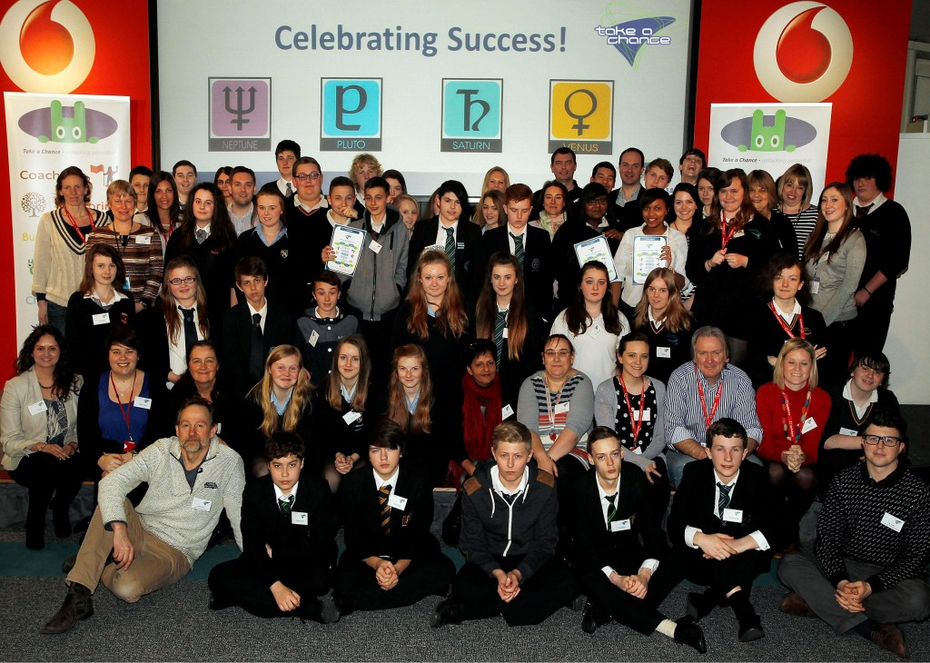 Students and Vodafone Business Buddies Celebrate Take a Chance ...